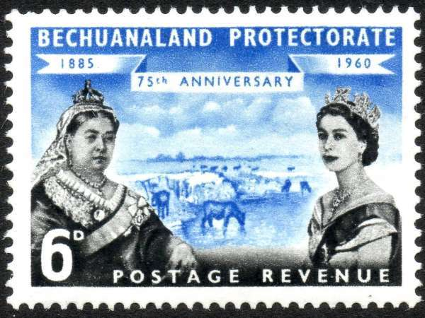 1960_6d_bechuanaland_protectorate_stamp